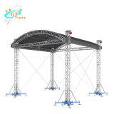 Stadiums-Beleuchtung-Aluminiumausstellung, die Binder mit rundem Dach-System bekanntmacht