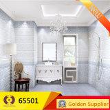 azulejos de suelo de cerámica del cuarto de baño de 300X600m m del azulejo púrpura de la pared (65501)
