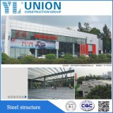 Полуфабрикат гальванизированная структура гаража стальной рамки модульная стальная