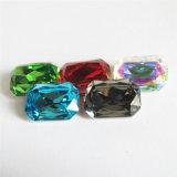 Punkt-rückseitiger dekorativer fantastischer Kristallstein für Kleid Pujiang