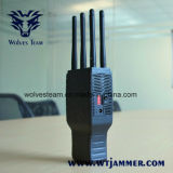 Handheld 6 полос все мобильный телефон и Jammer сигнала WiFi с Nylon случаем
