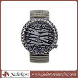 여자의 시계 숙녀 시계 형식 여자 우연한 시계를 위한 호화스러운 팔찌 시계