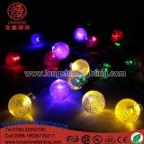 クリスマスの装飾ストリングライトのためのLEDの照明10m100LEDs泡球ライト