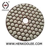 4 Droge Oppoetsende Stootkussens van de Hexuitdraai '' voor de Marmeren Steen van het Graniet
