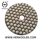 "4 "" Granite Marble Stone를 위한 육 Dry Polishing Pads"