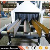 중국 강철 플레이트 H 광속 표면 자동적인 전처리 롤러 탄 폭파 청소 기계