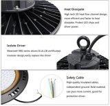 Sunlux Hangzhou Fabrik 50W 100W 150W 200W hohes Bucht-Licht UFO-LED