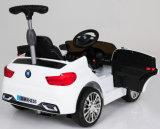 Дешевая пластичная езда малышей на игрушке автомобиля с дистанционным управлением