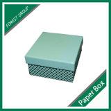 La parte superior e inferior de la caja de papel de regalo para Cosmética embalaje