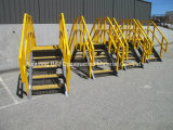 Corrimão de fibra de vidro e a Escada, GRP Corrimão Esquerdo, sistemas de escadas.