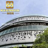 Rivestimento di alluminio perforato della facciata dei comitati di parete della decorazione calda di vendita