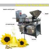 Maní automático de presión de aceite en frío de semillas de palma de aceite de girasol expeller