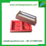 チョコレート包装ボックスギフトの板紙箱の印刷紙ボックス菓子器の花ボックス装飾的なボックス宝石箱のPeriwigの荷箱のフルセットのクリームボックス