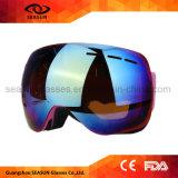 Lunettes de soleil de ski Googles mini de ski de bateau de lunettes d'eau de ski de canots automobiles en verre de lunettes avec le logo fait sur commande