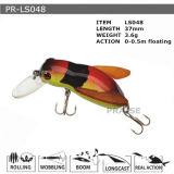 Pr-Ls048 disque flottant personnalisé Minnow leurre de pêche en plastique
