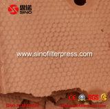 Imprensa de filtro Recessed Gasketed hidráulica da placa da câmara de Xmz