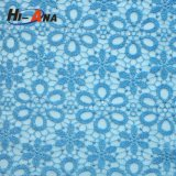 Familier tissu africain décoratif de lacet en d'OEM et d'ODM guipure
