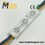3LEDs de Module van de Injectie W/RGB SMD5050LED van de hoog-Helderheid 0.72W voor de Reclame van Signage de de Lichte Vakje/Brief van het Kanaal/Brief van het Metaal met 3 Jaar van de Garantie