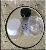 tarro plástico claro cilíndrico de 3ml/30ml picosegundo pequeño