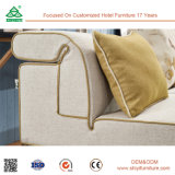 Sofà di legno del tessuto della mobilia cinese