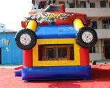 Bouncer inflável da ligação em ponte do caminhão de monstro/castelo de salto inflável para as crianças Chb255