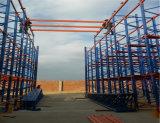 A indústria 4.0 Alta Densidade e eficiente sistema de armazenamento e recuperação automática do sistema de cremalheira do ASRS