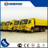 중국 대중적인 상표 Sinotruk HOWO에 의해 하는 덤프 트럭 6X4