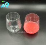 vidrios de vino plásticos de Mikasa Riedel del animal doméstico 12oz sin los vástagos