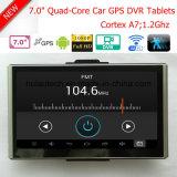 """Le tableau de bord voiture camion Marine Navigation GPS avec 7.0"""" Android 6.0 DVR de voiture GPS, FM, 3G dongle, AV-in pour le stationnement de la caméra système GPS Navigator, TMC Appareil de suivi"""