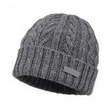 El invierno Hat Gorro de punto Pom Pom Beanie Hat Jacquard Beanie Hat