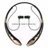 Bruit de dans-Oreille de Ne Hbs Bluetooth 4.0 de sport annulant l'écouteur stéréo de Bluetooth avec l'écouteur de Bluetooth de Neckband de puce de CSR