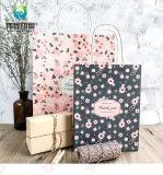 Dom Papel Kraft Branco personalizado imprimindo embalagem sacos coloridos