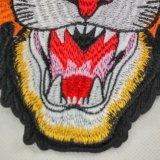 Tiger Backpatch патч головки блока цилиндров - Sew! об исправлениях вышитый Applique Фэшн Шоу патч