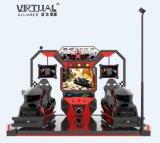 Machine de jeu passionnant Vr multijoueur jeux de course de voiture de réalité virtuelle Simulateur 9D VR de l'équipement
