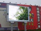 P16 annonçant l'écran polychrome extérieur d'Afficheur LED