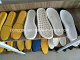 Zapato de la PU de China que hace la cadena de producción
