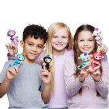 Бирюза Zoe игрушки обезьяны младенца Fingerlings (вклюает стойку тантьемы)