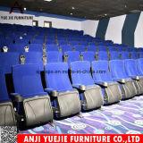Tejido Flannelette púrpura cómodo sillón Teatro Yj1803p