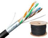 UL, CE, RoHS, CFCP Approbation FTP Câble LAN CAT5e / câble de réseau