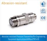 Transmissor de pressão resistente da abrasão Pm1420 para aplicações do equipamento da engenharia