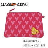 Nouvelle toile Zipper sac cosmétique avec design personnalisé de l'impression et des prix compétitifs