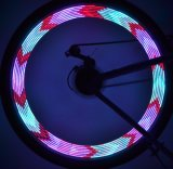 28 светодиодный RGB 30 Изменения Flash велосипед велосипед говорил колеса лампа