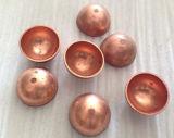 Jardin Décoration à bille 500mm Creux en acier inoxydable 304 demi-bille de métal