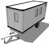 [20فت] تضمينيّة يصنع وعاء صندوق يخيّم عربة سكنيّة صغيرة
