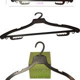 Douane van de Hangers van het Overhemd van het Merk van het Gebruik van het hotel de Plastic Goedkope
