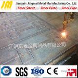 Piatto ad alta resistenza dell'acciaio per costruzioni edili di Q500 Q550 per il macchinario di ingegneria