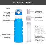 Новая конструкция Non-Toxic Food Grade съемные силиконового герметика Ultra фильтрации с расширительного бачка 1 л
