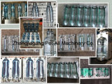 Der 2 Kammer-Plastik kann Flaschen-Haustier-Schlag-formenmaschine schreiben