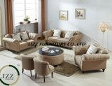 Le sofa neuf de tissu de salle de séjour de mode de type a placé avec la bonne qualité