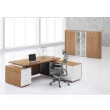 측 반환을%s 가진 현대 디자인 멜라민 유형 사무실 책상